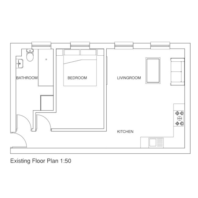 Flat 2 - floorplan