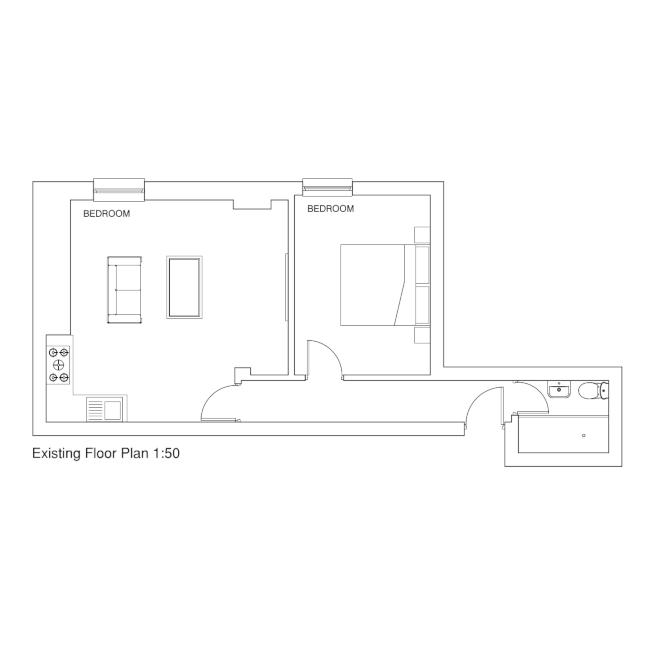 Flat 1 - floorplan