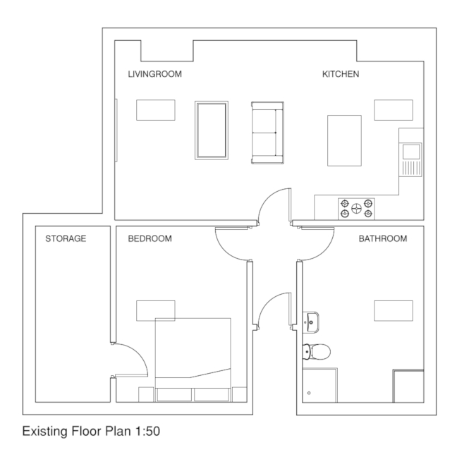 Flat 6 - floorplan