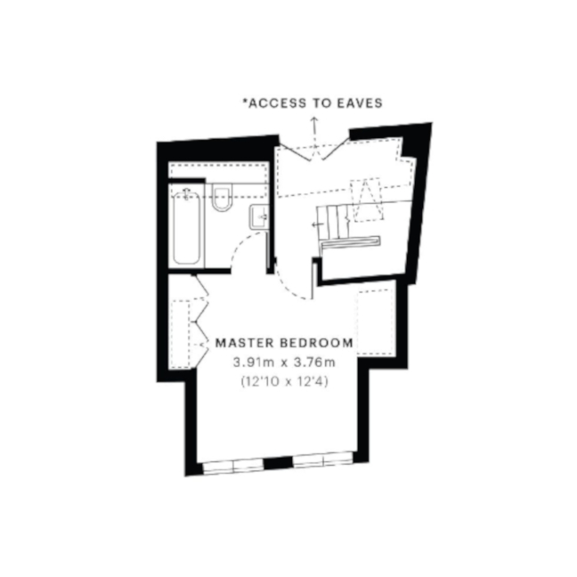 floorplan - second floor