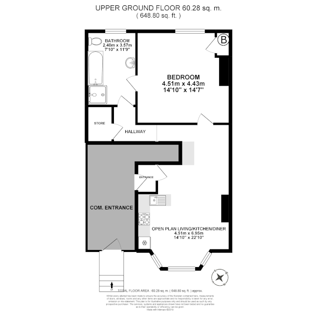 Floorplan - upper ground floor