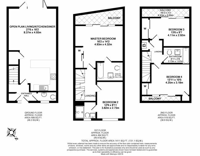 VES - GU22 9FH-451 Floorplan