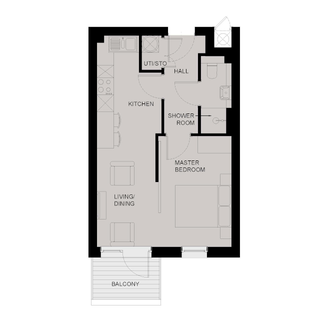 1-Bed