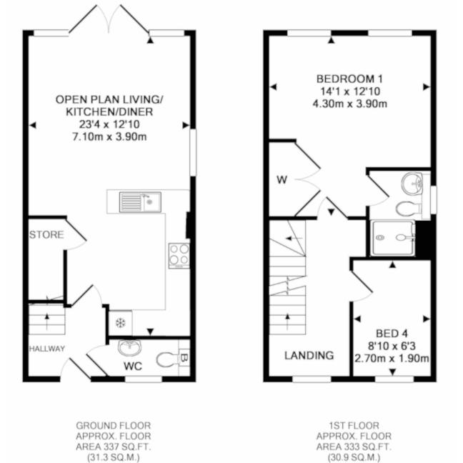 floorplan - GF & FF